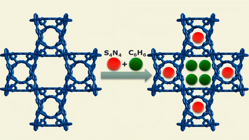 Highly selective separation of the mixture of S4N4 and benzene by metal–organic framework [Zn4(ur)2(ndc)4]